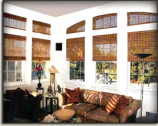 Designer Natural Shades Installed